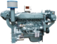 Sinotruk ship engine 250hp price180KW for fishing boat yacht patrol ship