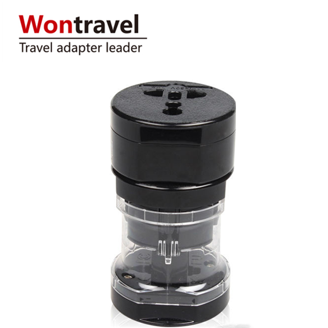 Wontravel regali di affari a buon mercato portatile international travel adapter caricatore usb