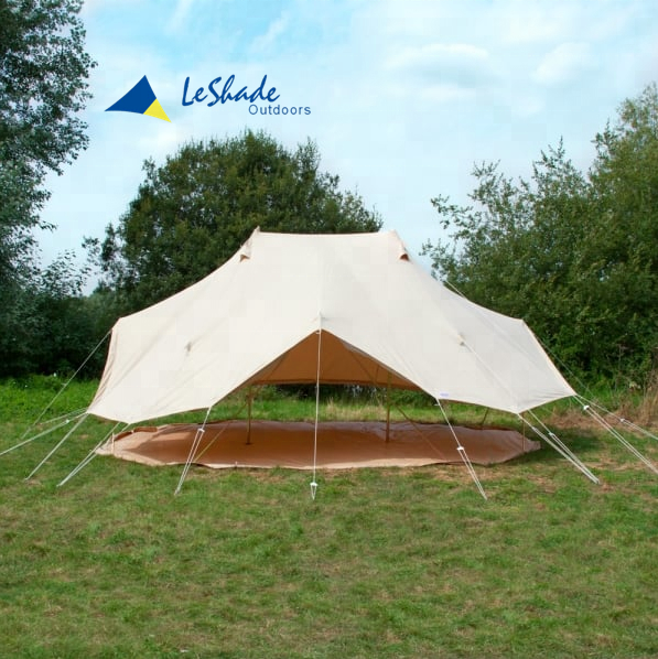 6x4m empeor bell tent with 100% cotton canvas