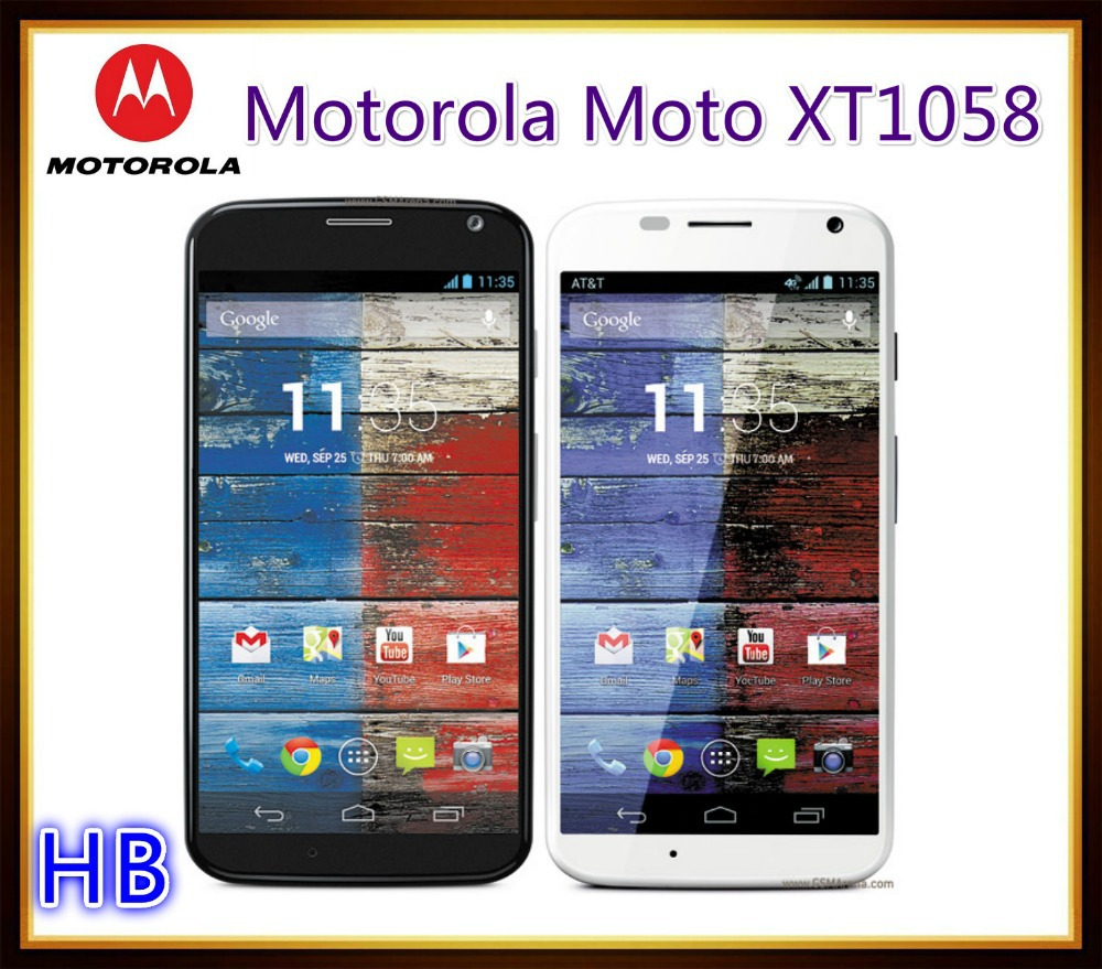 unlocked original motorola moto x xt1058 cell phone android smartphone gps wifi 3g 4g 4 7 touch. Black Bedroom Furniture Sets. Home Design Ideas