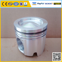 diesel engines parts aluminum piston, truck piston prices 3044448 3029010/3036669/3037820/3803965