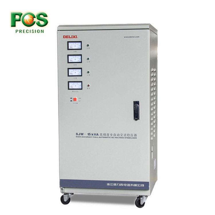 Delixi 3 Phase Automatic Voltage Regulator Stabilizer Power 30kva
