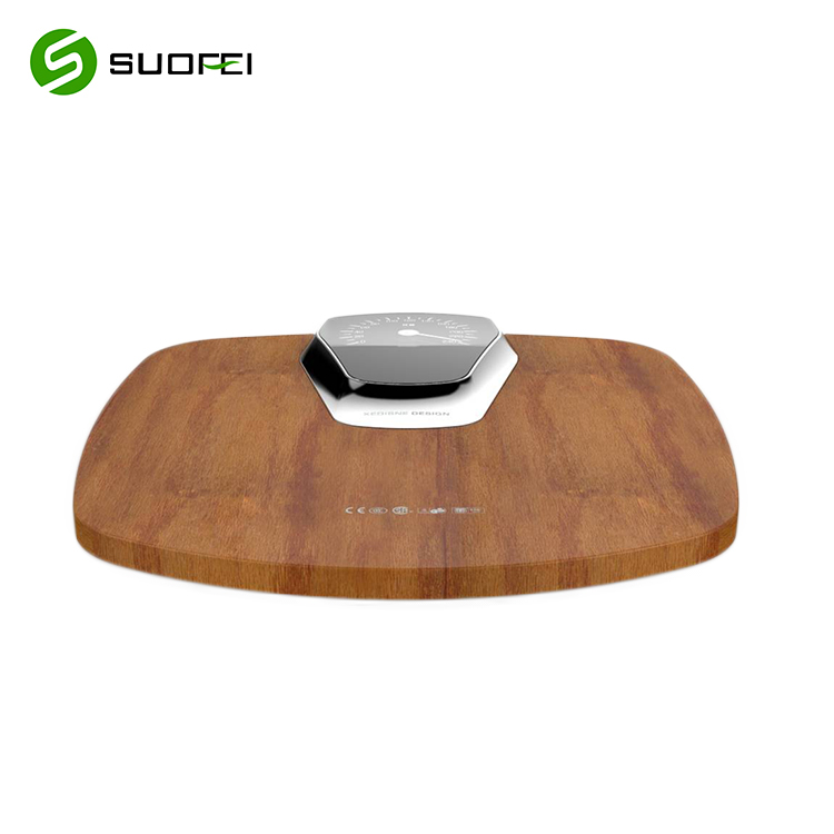 180kg 400lb Digital Natural wood Platform wholesale Surface body weighing scale sf122