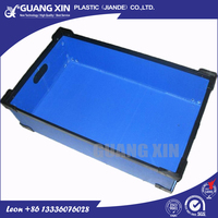 Excellent quality and offer sealed edge pp plastic corrugated sheet