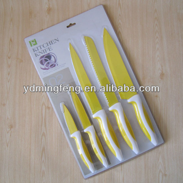 Laser stainless steel kitchen knives MS2046