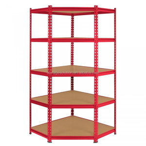 5 Tier Corner Racking Garage Shelving 90cm Storage Units