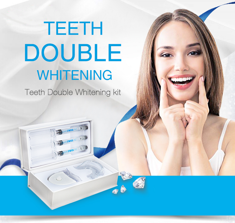 Amazon heet verkoop private logo glimlach tanden whitening kit