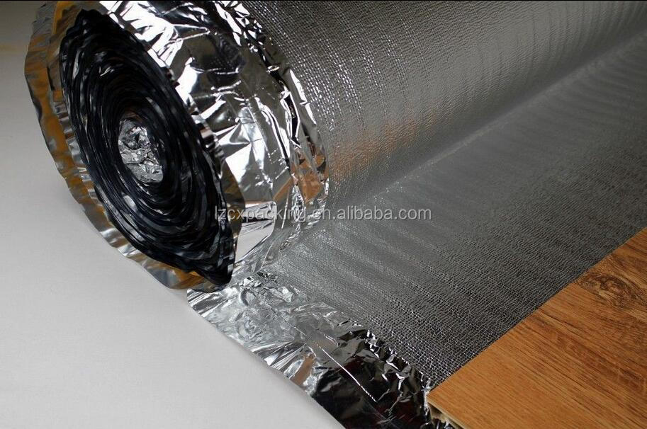 100m2/75m2 sound Insulation Vapour barrier Adhesive tape Floor SILVER PLUS 5mm