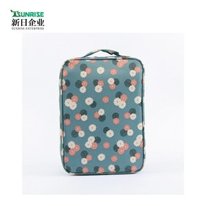 Top Quality 210D 420D Lightweight Foldable Zipper Dust Proof High Class Student School Bag Shoe Bag Drawstring Shoe Travel Bag