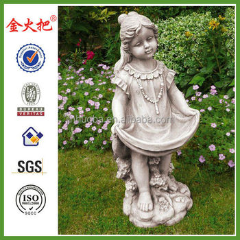 Girl Holding Dress Garden Statues /ornaments - Buy Angel Girl ...