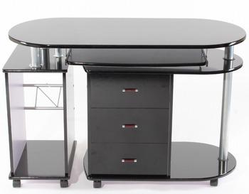 Dernières conception en bois ordinateur bureau pour deux
