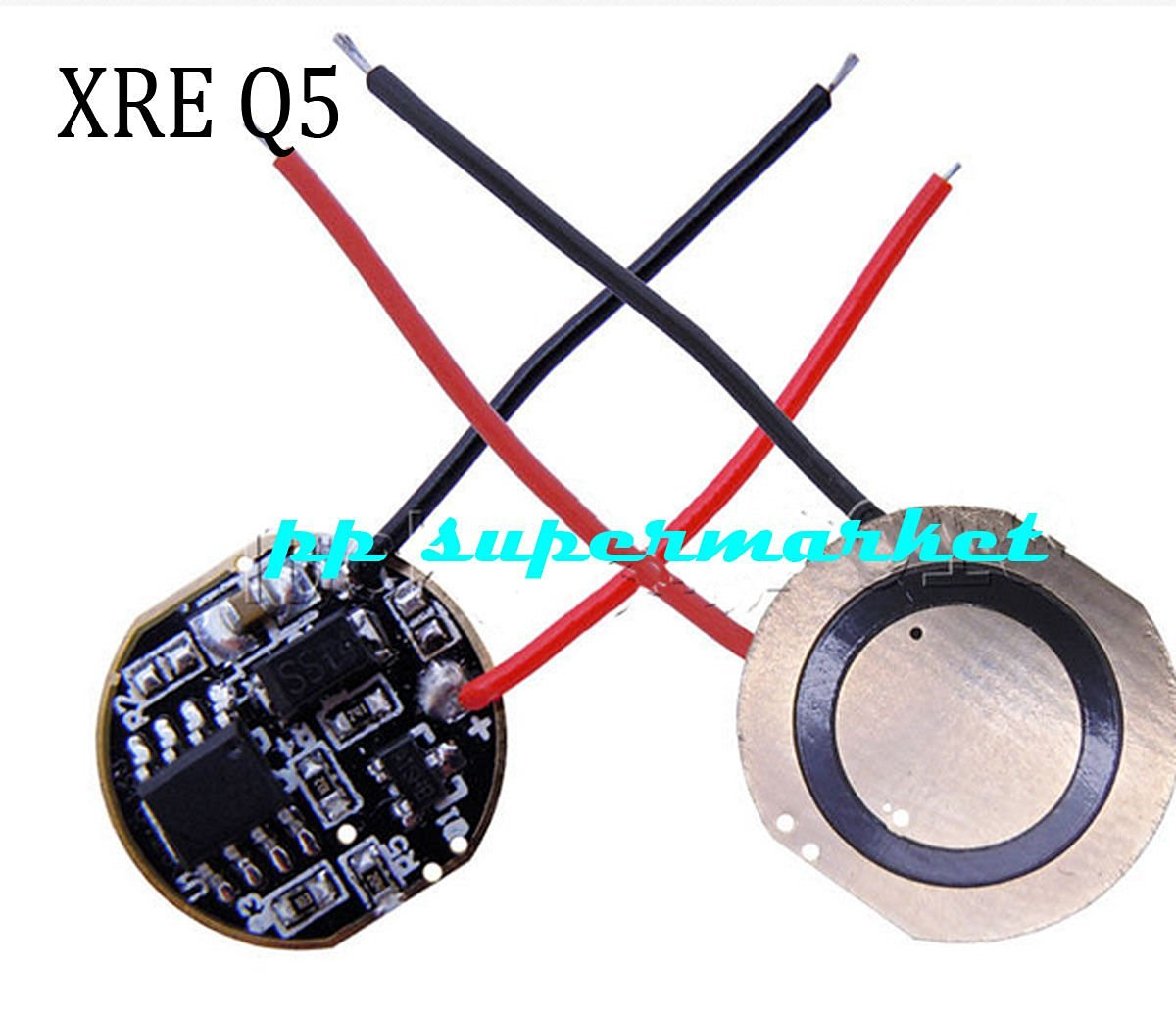 Cheap Simple Led Driver Circuit Find Dimmable White Lamp Electronic Circuits Diagram Get Quotations 5pcs Board For Cree Xr E Xre Q5 P4