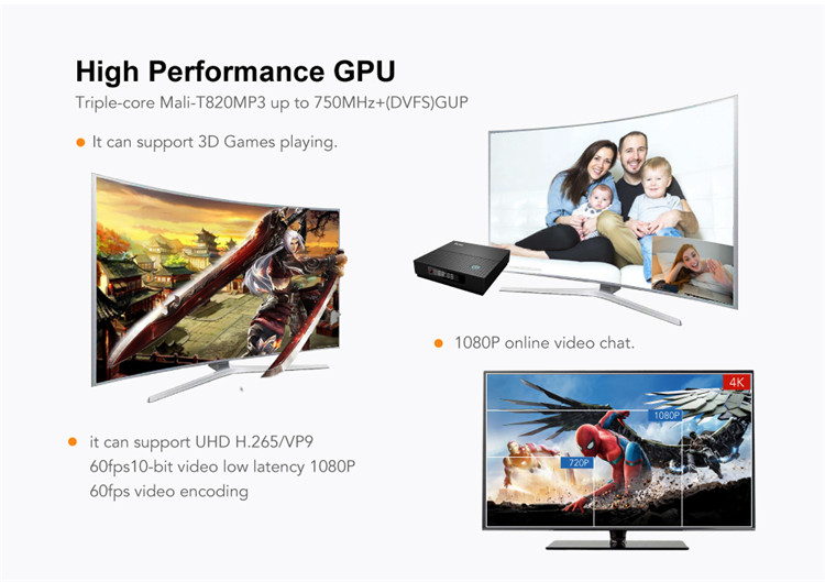 full hd 4k tv box TX92 S912 3G 32G Android 7.1