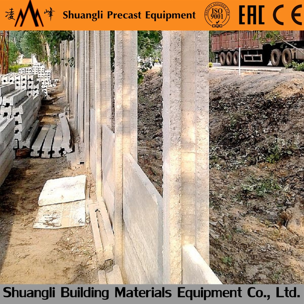 Precast Concrete Cost Wall Fence Concrete Fence Molds For