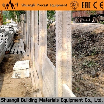 Precast Concrete Cost Wall Fence Concrete Fence Molds For Sale With Concrete  Column Forms
