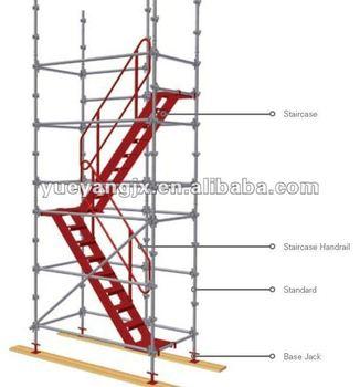 Kwikstage Modular Scaffolding System Aluminium Scaffold Stair