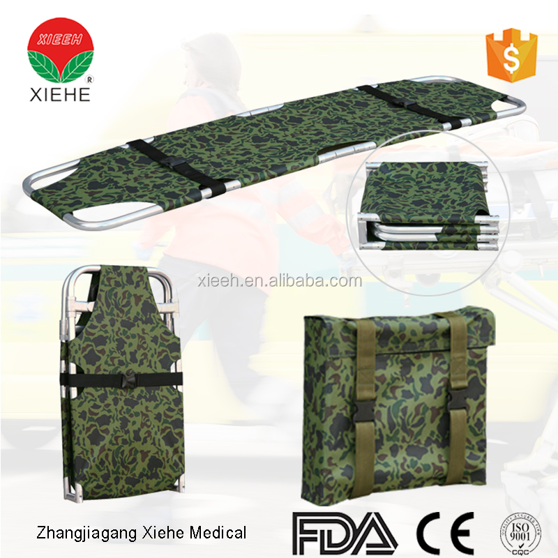YXH-1EL Folding Emergency Stretcher,Military folding stretcher,Green Army Stretcher