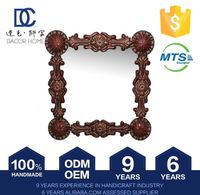 Quality Guaranteed Tailored Wholesale Craft And Art Raw Titanium Glass Mirror Ornament