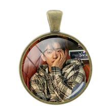 TAFREE K-POP Got7 DIY Подвески JB Mark JinYoung фото подарок ожерелье и брелок аксессуары ювелирные изделия G05(Китай)
