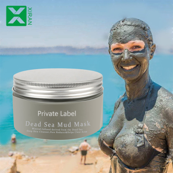 Organic Dead Sea Mud Masks Purifying Mineral Face Clay Mask
