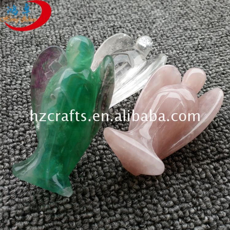 Wholesale quartz angels gems 2 inch gemstone