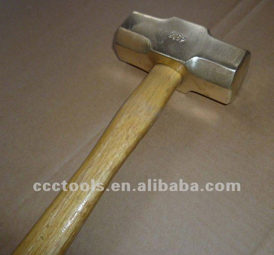 sledge hammer with wooden handle , hardware hand tools