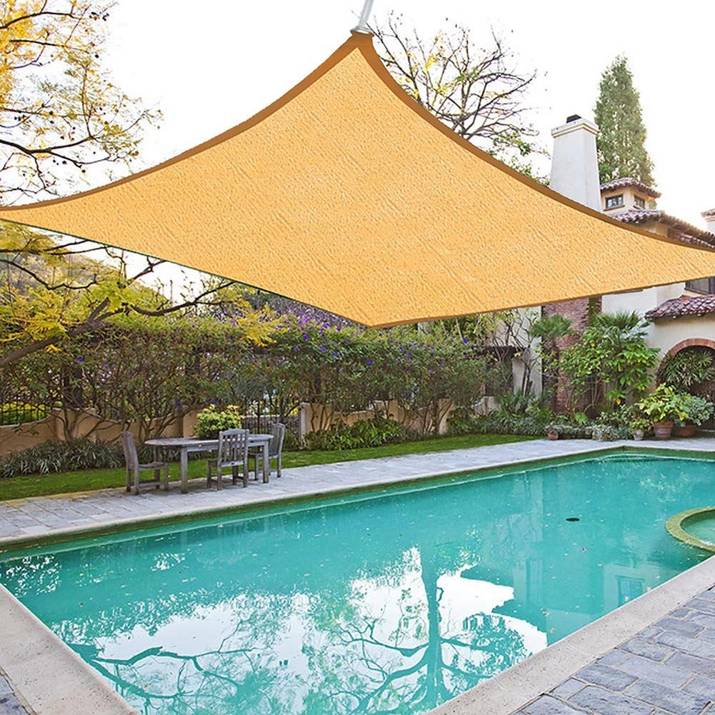Get Quotations Shade Beyond 8 X10 Rectangle Sun Sail Canopy For Patio With D Rings