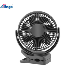 Fashion Nieuwe Stijl Hoge Snelheid Mini Fan Battery Operated Clip Op Fan