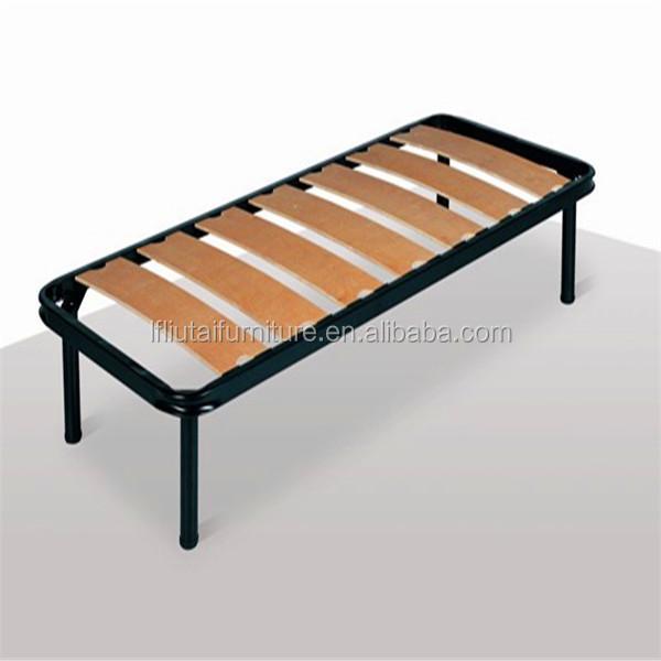 Home, Furniture & Diy Metal Slatted Bed Base Single Furniture