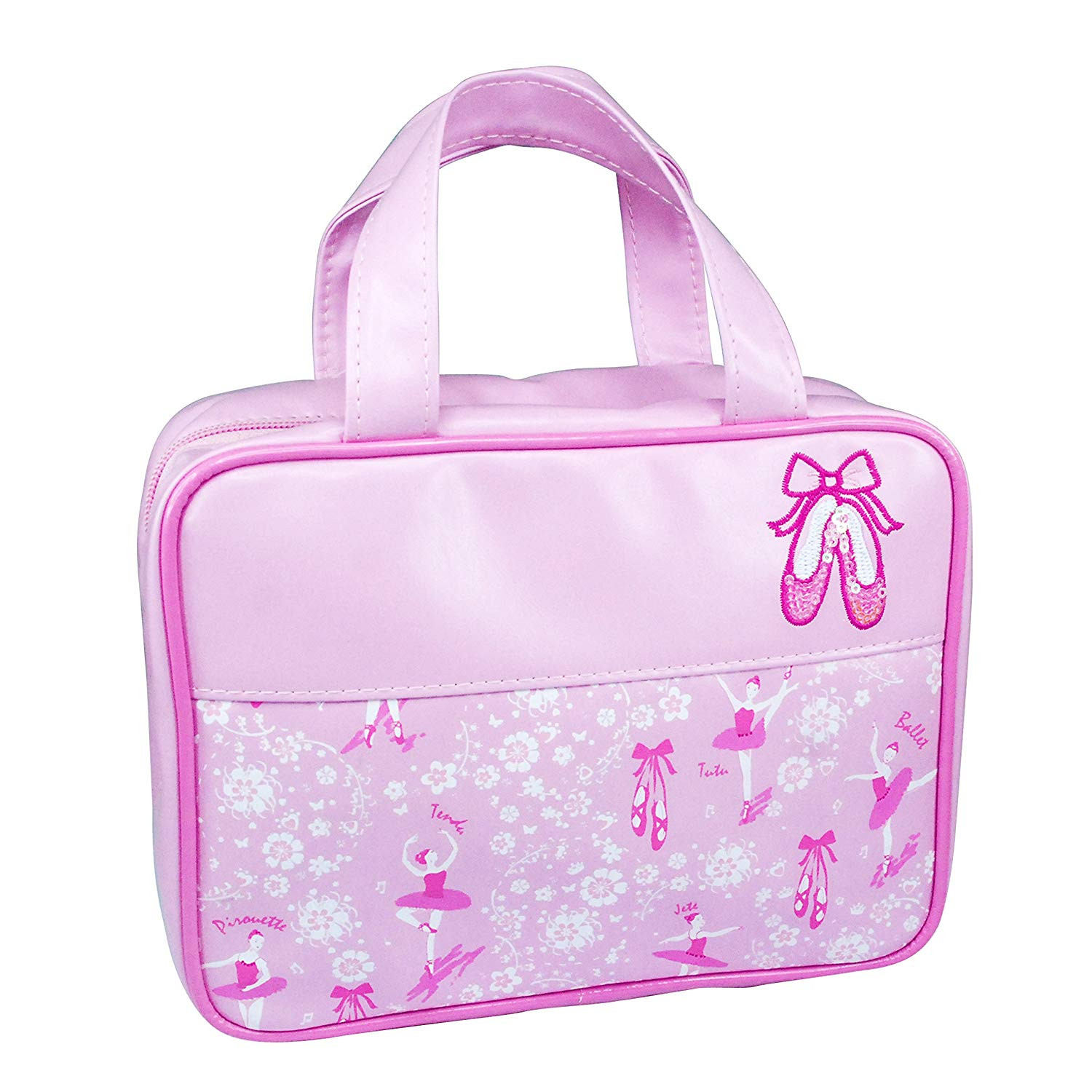 Pink Poppy Prima Ballerina Toiletries bag in pale pink