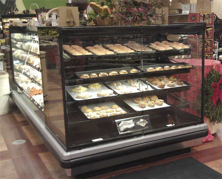 Custom High Quality Wooden Bakery Display Cabinet Shop Fittings ...