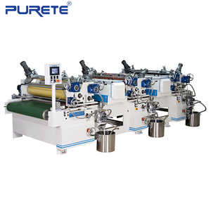 Automatic 4 Color UV Printing Line For Tinplate