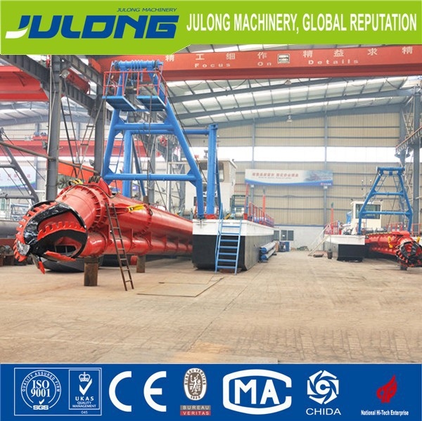 River used sand pumping dredging machine