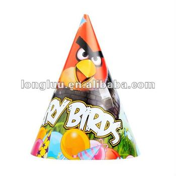 Paper Nice Cartoon Cap Cone Hat For Birthday Party Supplies Hats Promotions Kids Product On