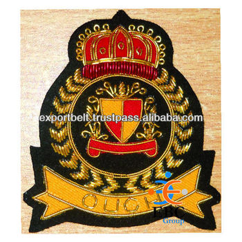 Custom Hand Embroidered Fashion Badge | Fashion Embroidered  Crests,Badges,Patches,Emblem,Insignia,Crest - Buy Embroidered Name  Badges,Hand Embroidery