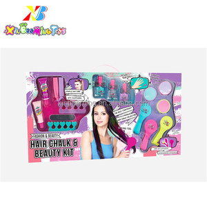 Promotion Gifts Diy hair beauty kit make up set for kids