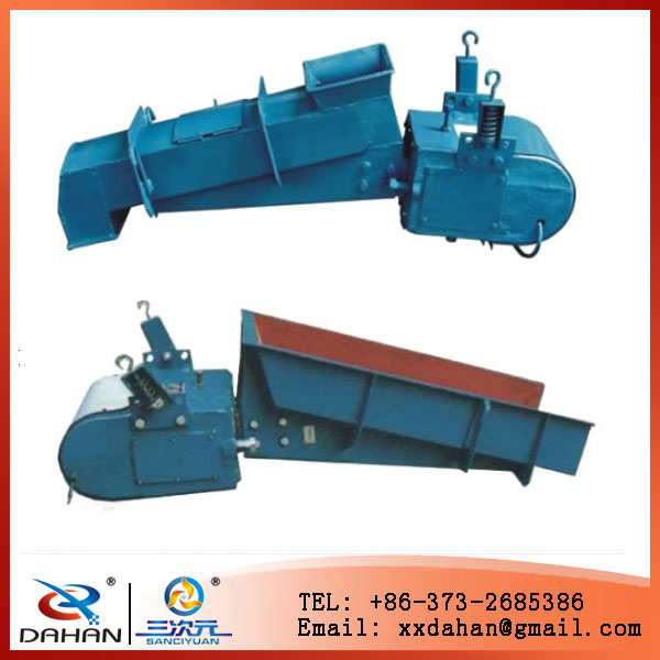 Electric Magnetic Grizzly vibrating feeder for powder and particle