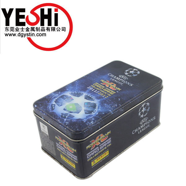 Promotional custom printing Metal Gift Box for Ballpoint Pen with fabric inside
