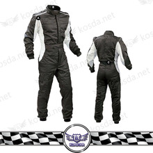 Black Fia Racing Suit,Fire Retardant Drift Racing Suit