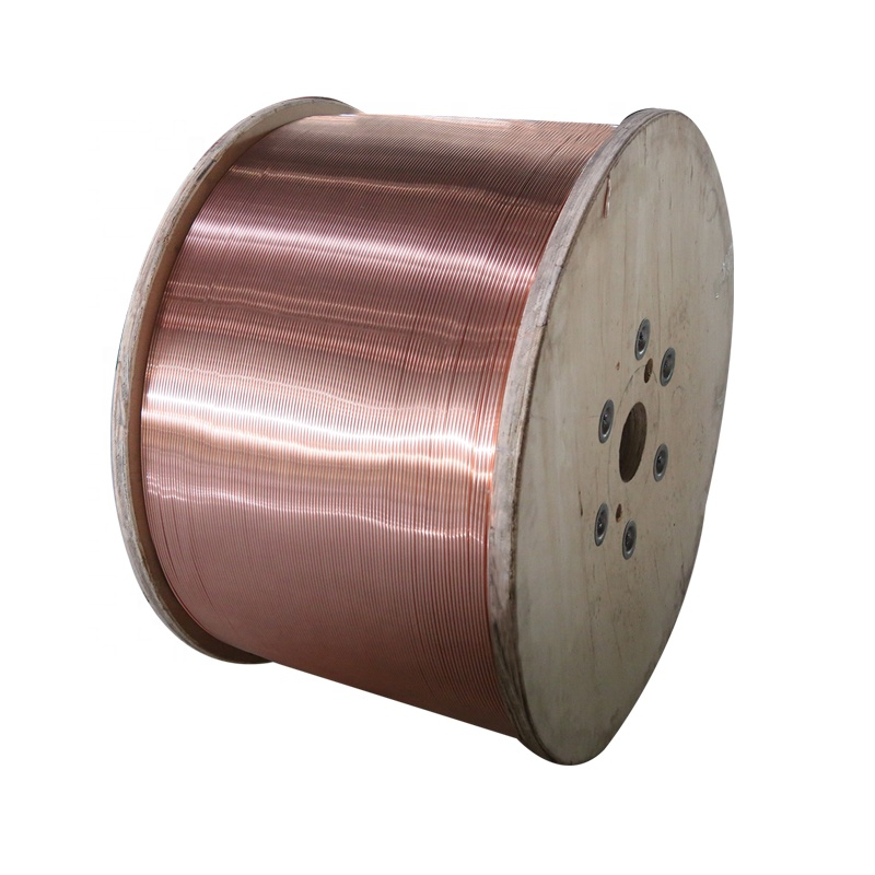 High tensile strength Cca wire, bare cca wire for telephone cable