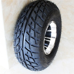 "19X7-8 Rubber Tire With 8"" rim Universal ATV UTV Replacement Tire"