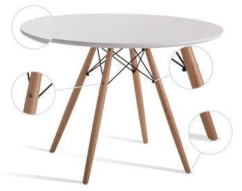 Top koop meubels wit zwart moderne salontafel houten base voor