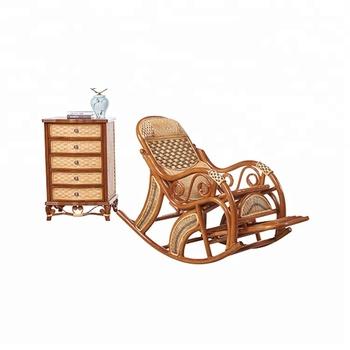 Indoor Living Room Oversized Armchair Rattan Chair