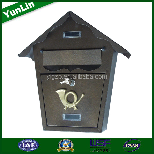 2017YooBox Factory Supply Residential Indoor Decorative Mailbox Standing and Residential Indoor Decorative Mailbox so hot
