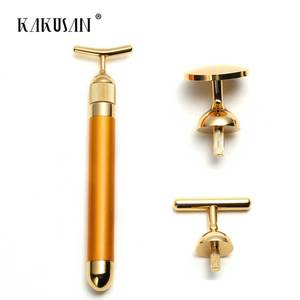 Popular gift massage tools japan 24k gold beauty bar