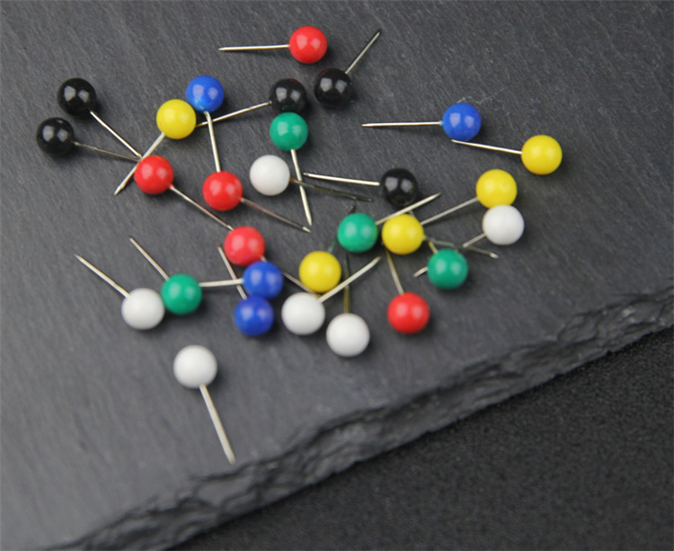 Factory Wholesale ball head pins round head push pins for maps