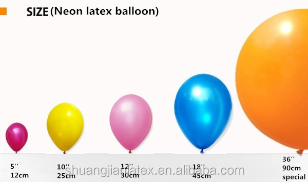 China industrial advertisement rubber balloon