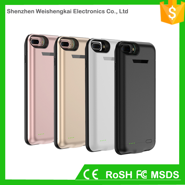 External mobile phone battery cases and power charge cover for iphone 6s 6 7