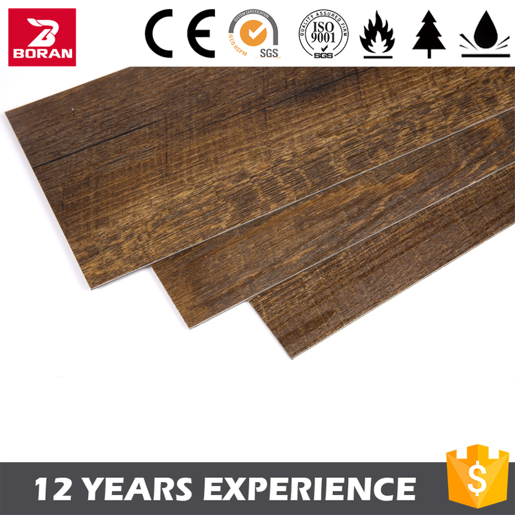 Cheap Price Waterproof Wood Textured Vinyl Flooring