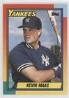 Kevin Maas (Baseball Card) 1990 Topps Traded - [Base] - Factory Set White Back #63T